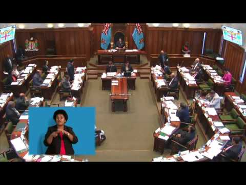 Fijian Attorney-General informs Parliament on the High School and University Budget Consultations