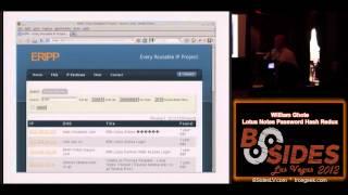 2.1.2 William Ghote Lotus Notes Password Hash Redux