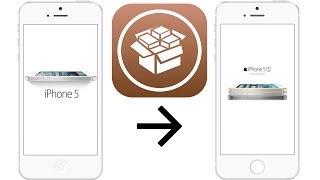 Как  сделать из iPhone 5 - iPhone 5S Камера!