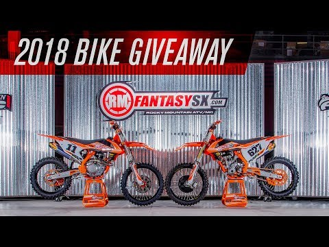 RMFantasySX Bike Giveaway 2018 - YouTube