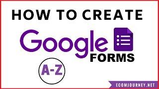Comment Créer Un Formulaire De Google Z