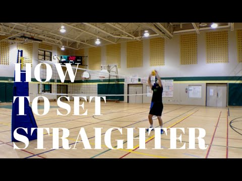 Volleyball Tip Of The Week #13 - How To Set Straighter
