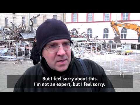 Moscow Destroys Kiosks In Beautification Blitz