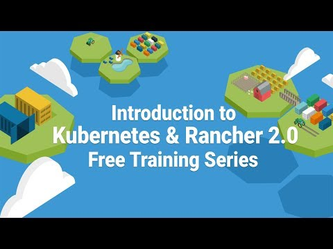 Intro to Kubernetes on Rancher 2.0 Training - April 19th, 2018