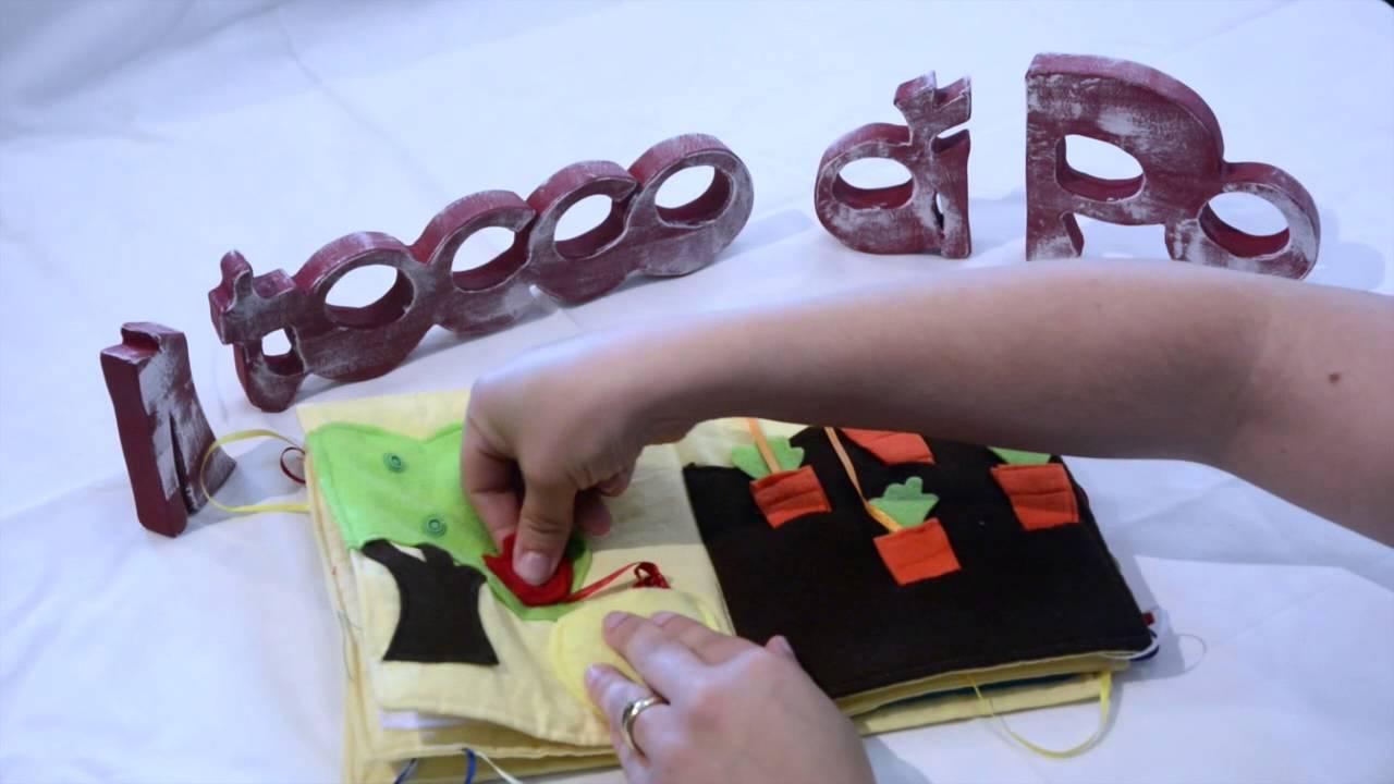 Estremamente Libro Tattile Sensoriale per bambini - YouTube WJ18
