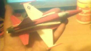 PAPERCRAFT F-20 TIGERSHARK