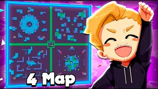 4 Maps In One! + New Gadget & Star Power Fun! :D