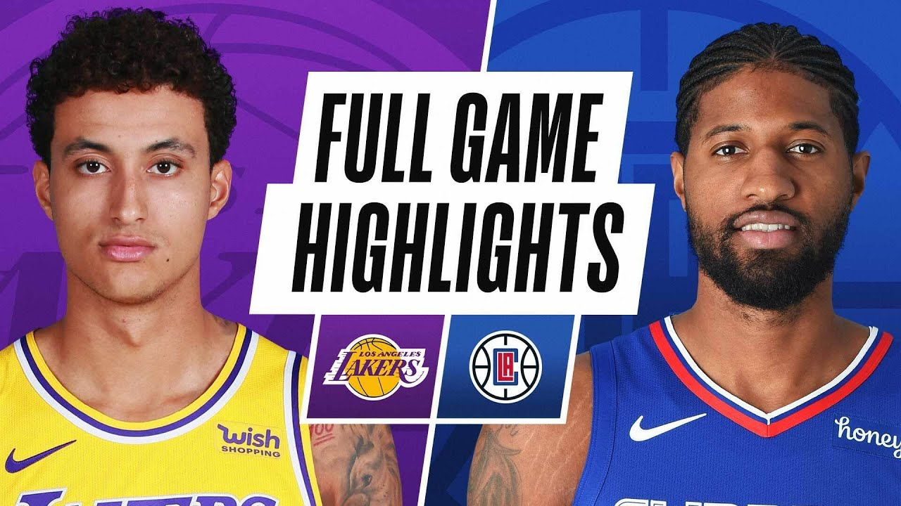 LAKERS at CLIPPERS | FULL GAME HIGHLIGHTS | May 6, 2021