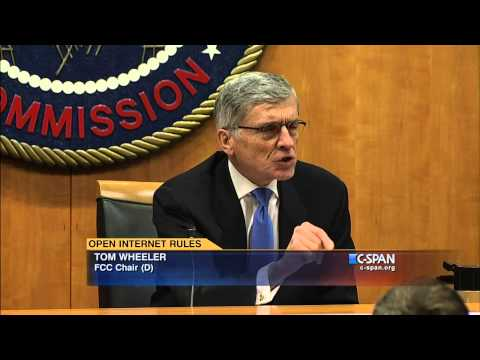 FCC Chair Tom Wheeler on Open Internet Rules (C-SPAN)