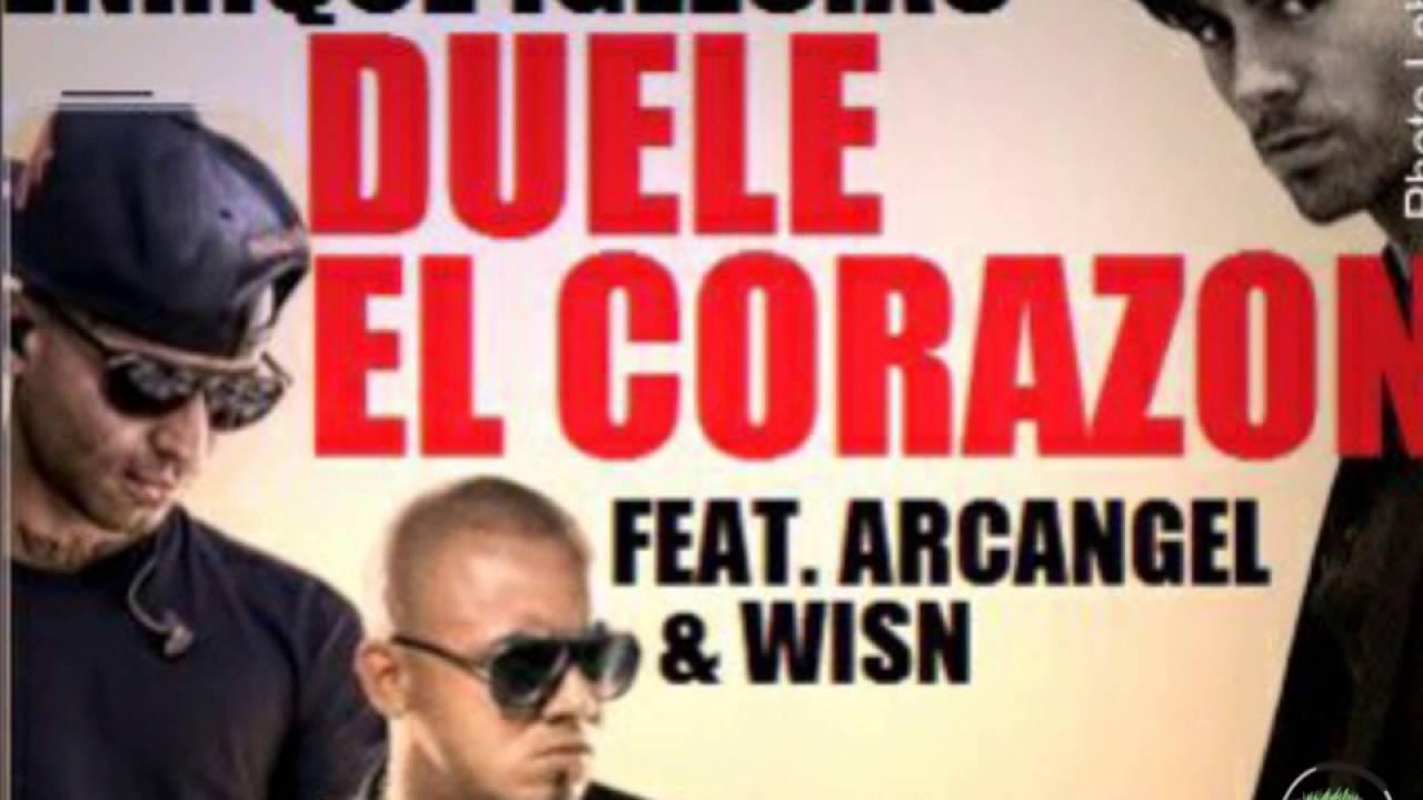 Download Duele el corazón remix (vídeo lyric) Enrique Iglesias ft Arcángel y Wisin