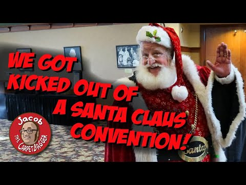 We Got Kicked Out of a Santa Claus Convention