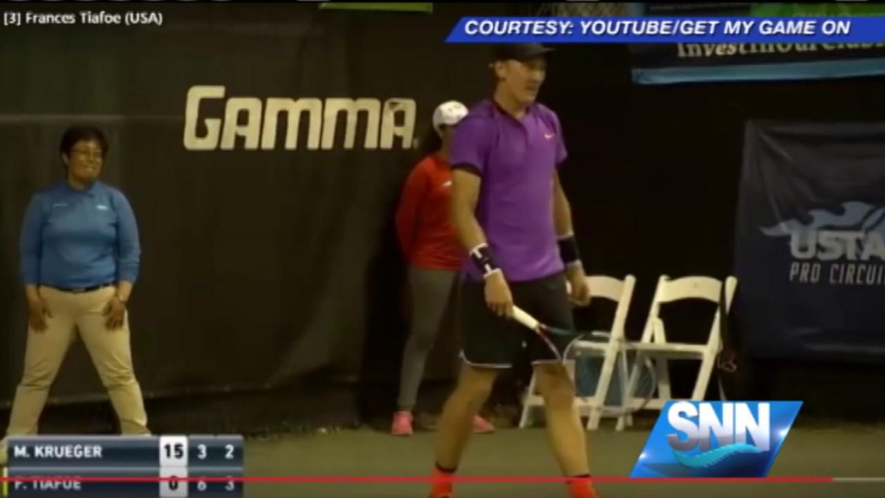 Grunting in tennis
