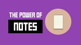 Why Keeping Notes is SUPER important + my process