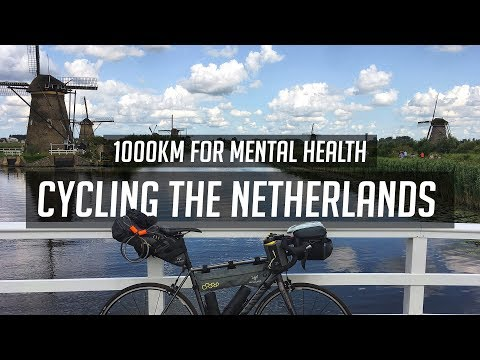 Cycling 600miles around the Netherlands!