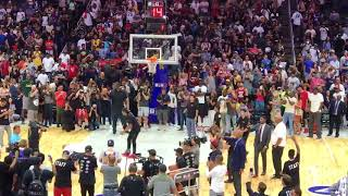 Ice Cube beats LaVar Ball at BIG3 4-point challenge