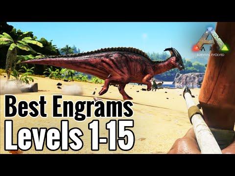 Best Engrams for Level 1-15 in ARK: Survival Evolved