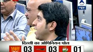 ABP News-Nielsen opinion poll for LS Elections in New Delhi