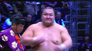 November 2018 - Day 2 - Takayasu v Hokutofuji