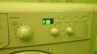 Indesit ошибка F08 момент появления(washrepair.ru - ремонт стиральных машин http://washrepair.ru/kody-oshibok-stiralnyx-mashin-indesiteariston/ - коды ошибок стиральных машин индезит., 2016-10-10T21:17:04.000Z)