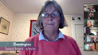 Bennington Select Board // 05/10/21