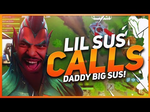 TSM Hamlinz - LIL SUS GETS BULLIED... AND CALLS HIS DAD! (Fortnite BR Full Game)