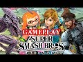 Super Smash Bros. Ultimate Gameplay + Impressions - Link, Ridley, Snake, Inkling!
