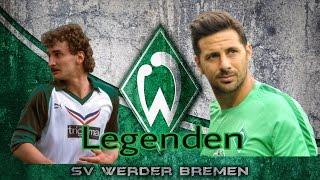 Die 20 größten Legenden von Werder Bremen.