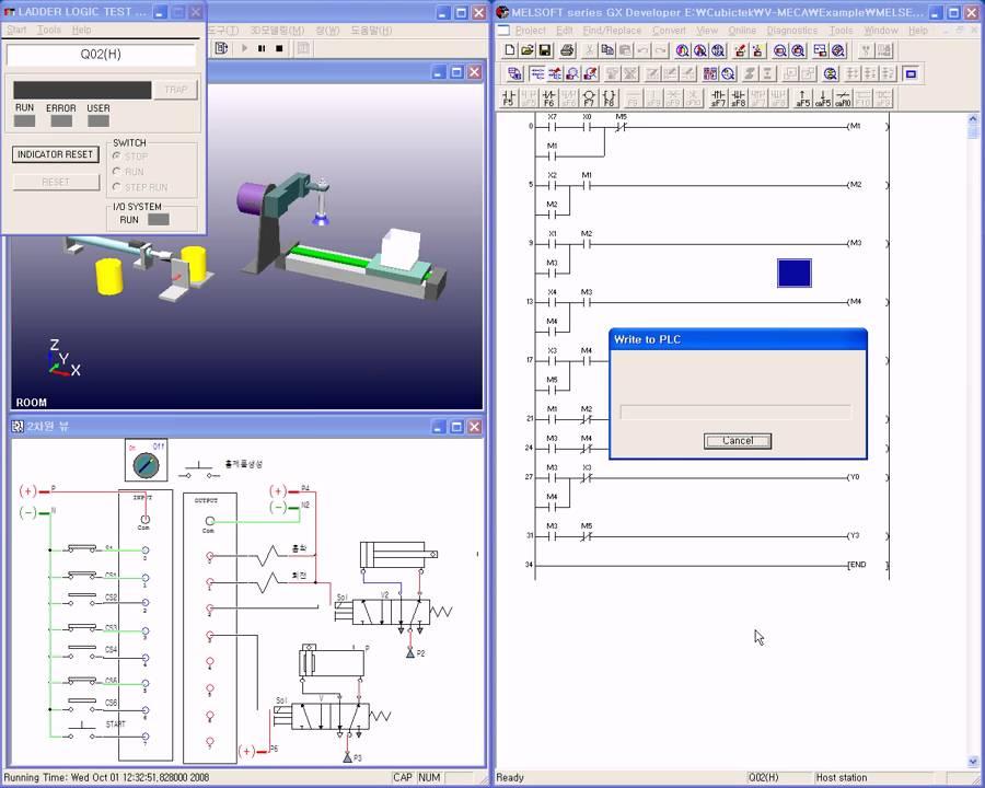 Mitsubishi Plc Simulator Youtube
