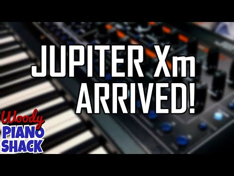 NEW SYNTH ROLAND JUPITER Xm - Let's figure it out together!
