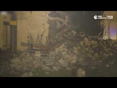 Обрушение церкви в Италии