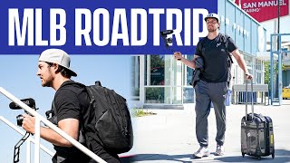 TREVOR BAUER'S ROAD TRIP TO OAKLAND!