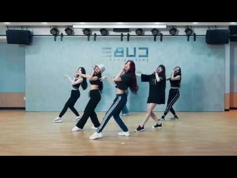 [mirrored] (G)I-DLE - HANN(Alone) Choreography Practice Video