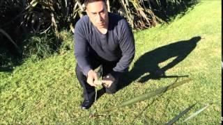 Maori Flax Line, The Proper How To
