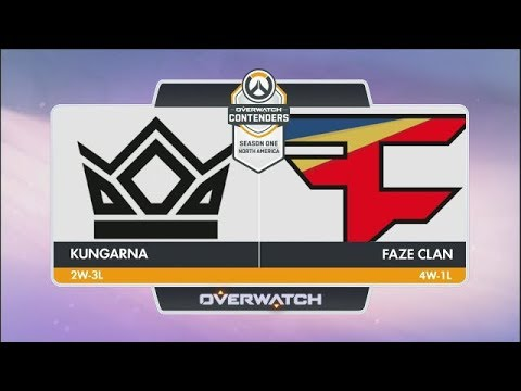 Kungarna vs FaZe Clan (Part 1) | OW Contenders Season One: North America