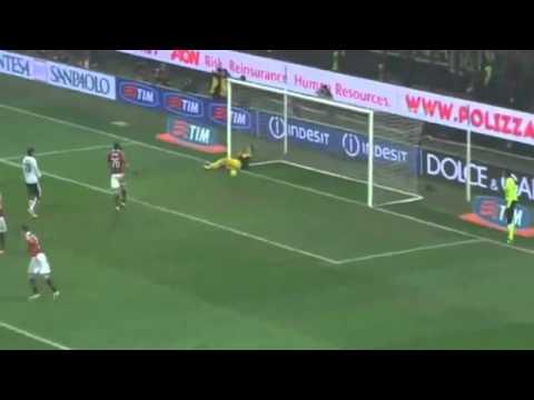 Mario Balotelli GREAT FREE-KICK GOAL vs Parma [AC Milan 2-0 Parma] 15/2/2013 Video in HQ