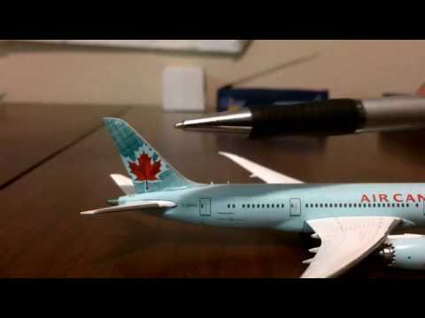 Gemini Jets Air Canada Boeing 787–8 Unboxing/review
