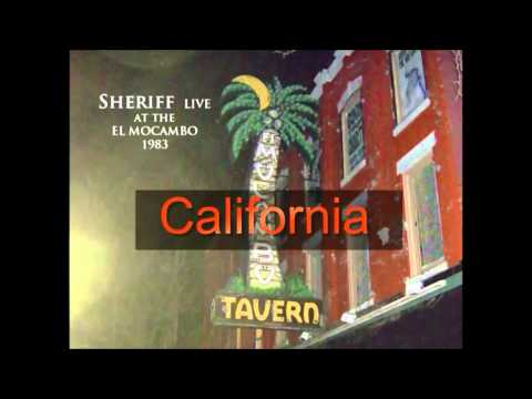 Sheriff - Live at the El Mocambo in Toronto1983 -  When I