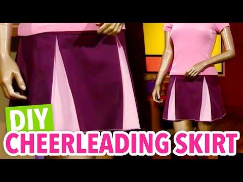 DIY Cheerleading Skirt - Throwback Thursday - HGTV Handmade