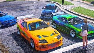 Эстафета В Гта 5 Онлайн. Битва 2 На 2 На Lamborghini Huracan. Командные Гонки!
