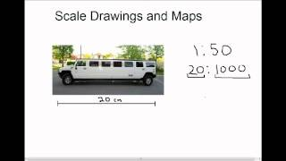 Scale Drawings and Maps