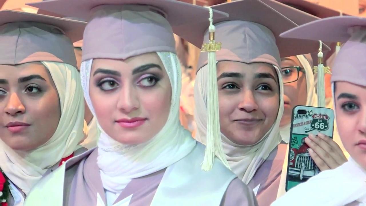 شاهد ماذا حدث مع بنات الجامعه