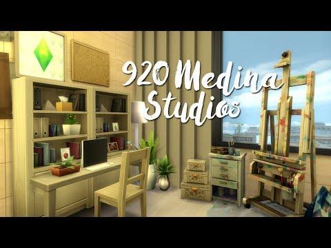 The Sims 4   Apartment Renovation: 920 Medina Studios (Base Game & City Living Only!)