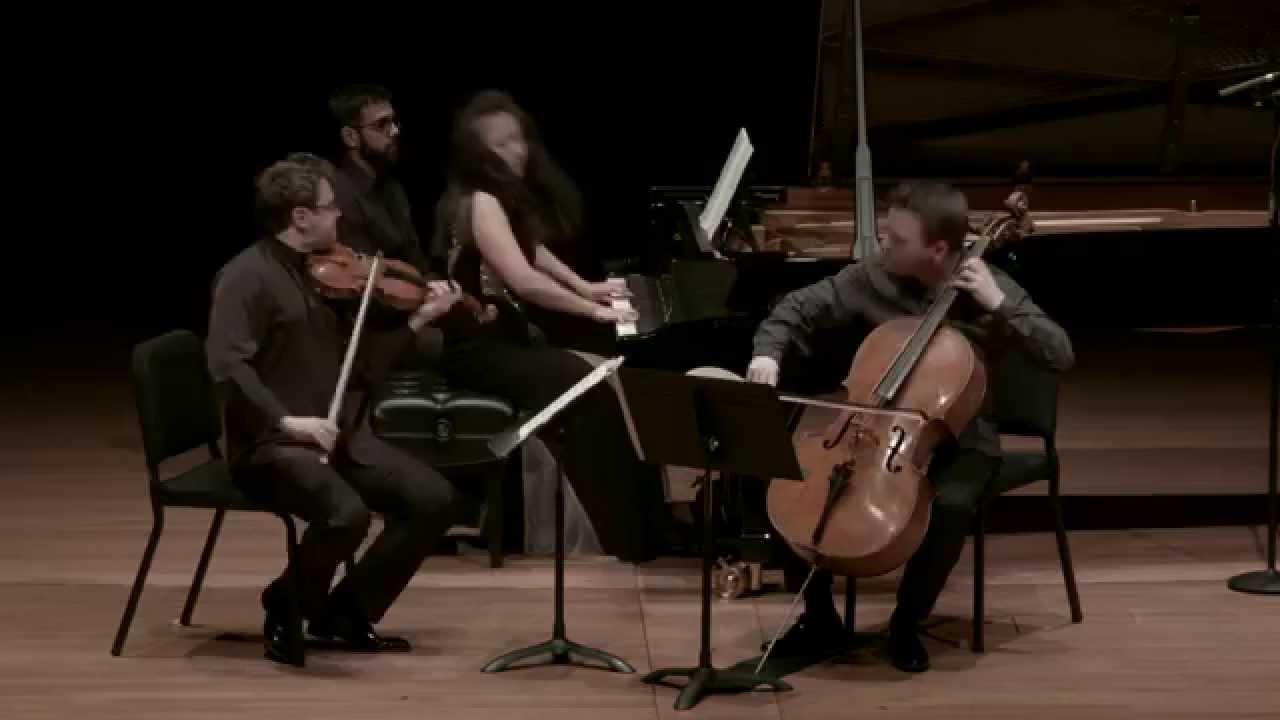 Brahms Piano Trio in C minor for Piano, Violin, and Cello, IV. Allegro molto