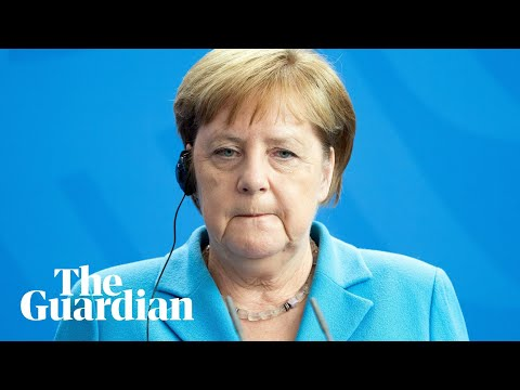 Angela Merkel insists she is 'fine' after third bout of shaking in one month