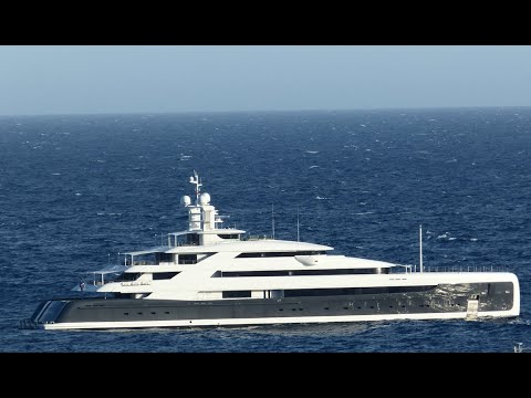 $145m M/Y ILLUSION PLUS 88,5m Yacht  Visit By Yacht Broker Stefan Katafai In Monaco Bay