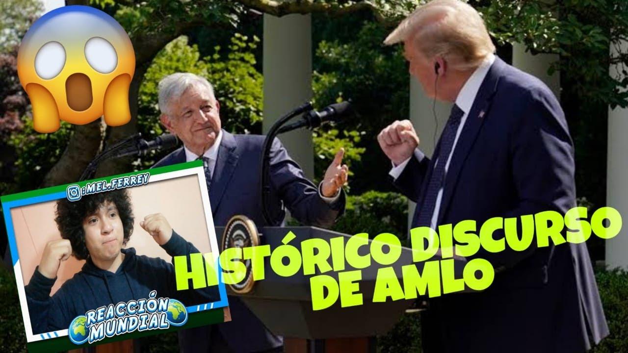 AMLO pone por encima la DIGNIDAD del pueblo de MÉXICO en la CASA BLANCA