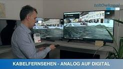 KABELFERNSEHEN | ANALOG AUF DIGITAL