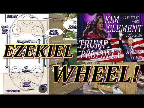The Simple Stone - Ezekiel Wheel Kim Clement Prophecy , The Stone That Help Take down Goliath!