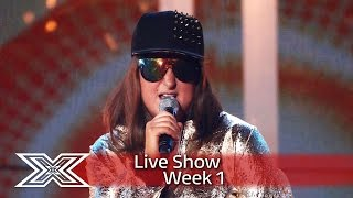 golden girl honey g takes on tupacs california love live shows week 1 the x factor uk