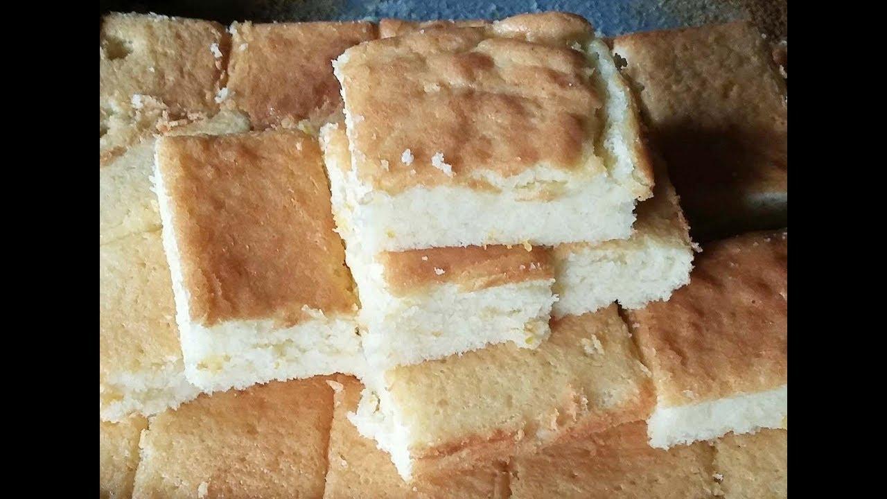 របៀបធ្វើនំបារាំង នំពងទា   How to make sponge cake  sample cake & easy  cake Yummy cake